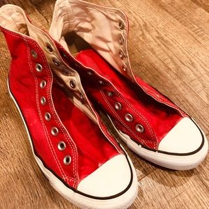 Red Converse high top
